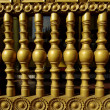 Stok fotoğraf: THE OLD WOOD BALUSTERS
