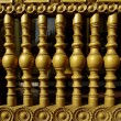 Stock Photo: THE OLD WOOD BALUSTERS