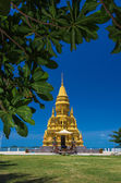 Laem sor pagoda on sea background, samui Island,Thailand — Stock Photo