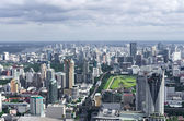 BANGKOK, THAILAND - JULY 13: Top view of Bai-Yok2 building that — Foto Stock
