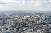 BANGKOK, THAILAND - JULY 13: Top view of highest building that c — Stock Photo