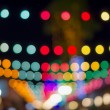 Blurred photo bokeh abstract lights background for new year part — Stock Photo