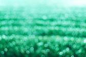 Blurred Photo bokeh, green color, background — Stock Photo