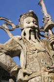 Piedra china en templo de wat pho budista — Foto de Stock