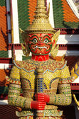 Thai Giant in Grand palace or Temple of the Emerald Buddha (also — Stock Photo