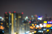 Cityscape background, Blurred Photo bokeh — Stock Photo