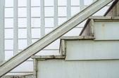 Oude close-up trap voor decorate — Stockfoto