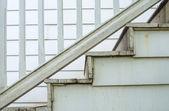 Alte closeup-treppe für verzieren — Stockfoto