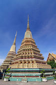 Thai Architecture in Wat Pho at Bangkok of Thailand  — Stock Photo