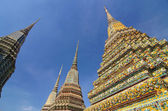 Wat pho, templo del buda reclinado, bangkok, tailandia — Foto de Stock