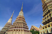 Wat Pho, Thai Architecture in temple at Bangkok of Thailand  — Foto de Stock