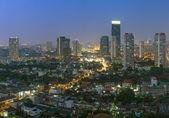 Bangkok gród w czasie zmierzch. — Zdjęcie stockowe