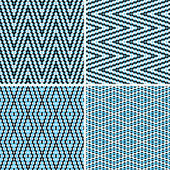 Seamless argyle pattern of dots — Stock Vector
