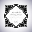 Wedding invitations — Stock Vector