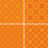 Set seamless decorative pattern — Stock Vector