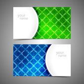 Modern business card templates — Stock Vector
