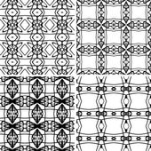Set seamless decorative pattern — Stock Vector