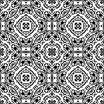 Seamless romantic pattern — Stock Vector