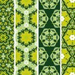 Set seamless floral pattern — Stock Vector #32577037