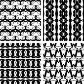 Seamless decorative elegant pattern — Stock Vector
