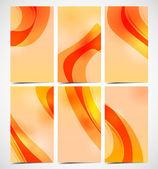 Elegant abstract designer card — Stock Vector