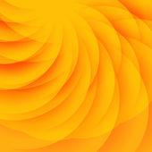 Abstract orange background with transparent semicircles — Vector de stock