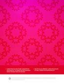 Decorative flyer design content background — Stockvektor