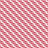 Seamless vintage heart pattern — Stock Vector