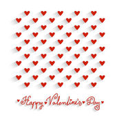 Valentine's day vector background — Stockvector