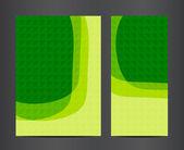 Brochure business design template or banner — Stock Vector