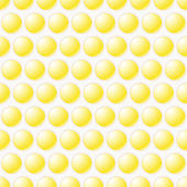 Yellow Bubbly design background — Stock Vector