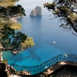 View from the cliff on the island of Capri — Stock Photo #33436675