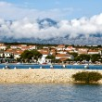 Novalja on the island Pag, Croatia — Stock Photo #34377669