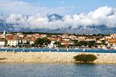 Novalja on the island Pag, Croatia — Stock Photo