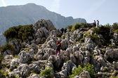 Rocks next to Hitler's Eagle's Nest — Stock Photo