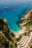 Capri Island, Italy — Stok fotoğraf