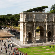 Constantine's triumphal arch — Stock Photo
