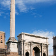 Triumphal Arch of Titus in the Roman Forum — Stock Photo #35935749