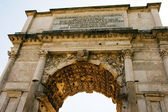 The Arch of Titus at Forum Roman — Stock Photo