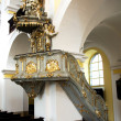 Stock Photo: Pulpit in church of Saint Mark in Litovel, Czech Republic