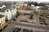 The town square Premysl Otakar in Litovel, Czech Republic — Stock Photo