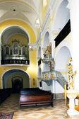 Interior of church of Saint Mark in Litovel, Czech Republic — Foto Stock