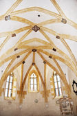 The ceiling of the chapel of St. George in Litovel — Stock Photo