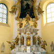 The main altar in the church of Saint Mark in Litovel — Stock Photo