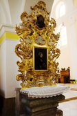 Interior of church of Saint Mark in Litovel — Stock Photo