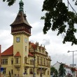 Stock Photo: Town Hall in Napajedla, Moravia