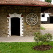 Stables stud farm in Napajedla — Stock Photo