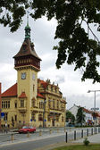 Town Hall in Napajedla, Moravia — Stock Photo