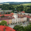 Stock Photo: Fulnek city in Moravia