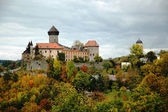 Sovinec Castle in northern Moravia — Stock Photo